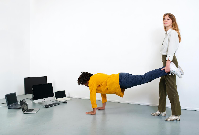 Menselijke kruiwagen, samenwerking tussen jou (Project professional) en Generation.